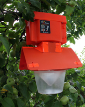 The Z-Trap electronic insect trapping device helps growers collect data on insect populations in crop fields and could reduce the amount of insecticides used and emitted into the environment and lower labor costs. The device is patented through the Purdue Office of Technology Commercialization and is being developed by Spensa Technologies Inc., a company based in the Purdue Research Park.
