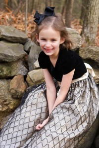 Finley has a severe form of LCA. She is awaiting gene therapy. (Jennifer Pletcher)