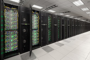Stampede is a world-class supercomputer with comprehensive simulation and data analysis capabilities. Credit: TACC