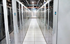 The Open Science Data Cloud comprises ten racks at the University of Chicago Kenwood Data Center.