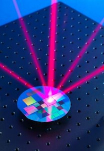 A microfabricated grating transforms a single incoming laser beam into a light field specially tailored for trapping and cooling atoms.
