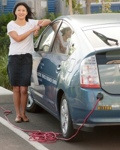 ITS research scientist Sonia Yeh reports that in 2012 low carbon fuels displaced 1.06 billion gallons of gasoline and 45 million gasoline gallon equivalents of diesel. (Gregory Urquiaga/UC Davis photo)
