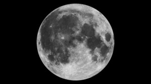 Mosaic of the near side of the moon as taken by the Clementine star trackers. The images were taken on March 15, 1994. Credit: NASA