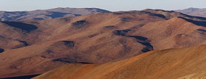 Somewhere on Mars, the Red Planet? No, it's somewhere in the Atacama Desert, the closest approximation on our planet to a Martian landscape. Credit: Wikimedia