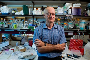 Leonard Guarente is the Novartis Professor of Biology at MIT PHOTO: M. SCOTT BRAUER