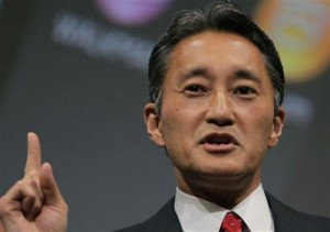 In this May 22, 2013 file photo, Sony President and CEO Kazuo Hirai speaks during a press conference at the Sony Corp. headquarters in Tokyo. Sony Corp. needs more time to study a key proposal from a U.S. hedge fund to spin off a part of its entertainment unit as a way to propel its fledgling revival, Hirai told shareholders Thursday, June 20, 2013. (AP Photo/Itsuo Inouye, File)