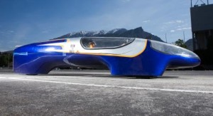 BYU's supermileage vehicle is hoping to drive more than 1500 mpg at the SAE competition this week.