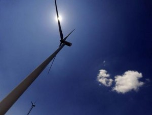Wind turbines in Alaiz, Navarra province, on July 8, 2013. For green energy producers, Spain has changed from a paradise with generous public support to a markedly less agreeable home.