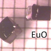 Samples of the europium oxide crystal.