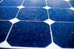 Researchers found that dirty solar panels only lose about 7.4 percent of their efficiency. Credit: Jacobs School of Engineering/UC San Diego