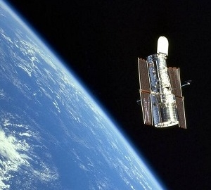 The Hubble Space Telescope. Image: NASA