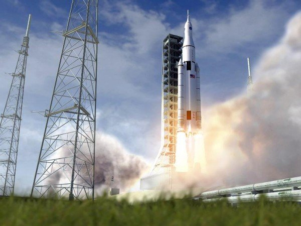 It appears that NASA's proposed Space Launch System is getting budgetary support from at least some House members. Credit: NASA