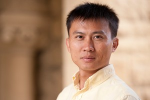 Yi Cui, associate professor at SLAC and Stanford. (Stanford News Service)