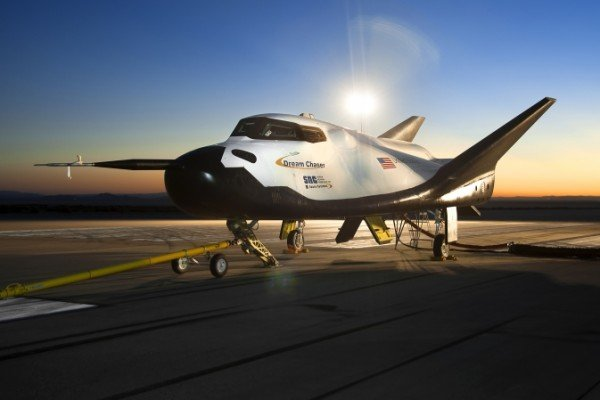 The Sierra Nevada Corporation (SNC) Dream Chaser flight vehicle is readied for 60 mph tow tests at NASA's Dryden Flight Research Center on Aug. 2. Image Credit: NASA/Ken Ulbrich
