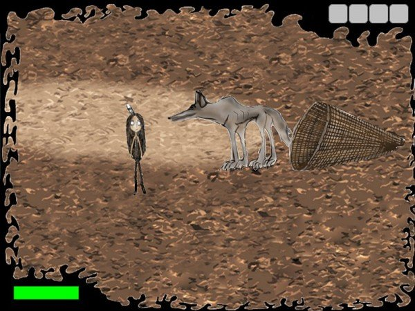 "Screenshot of ""Enee"" the first video game in the Shoshone Language. Photo Credit: Courtesy of Entertainment Arts and Engineering"