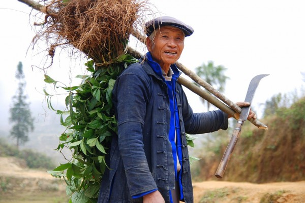 Chinese farmers and their families who move to cities without official permission don't qualify for basic benefits such as retirement or education. Photo credit: Wikimedia Commons.
