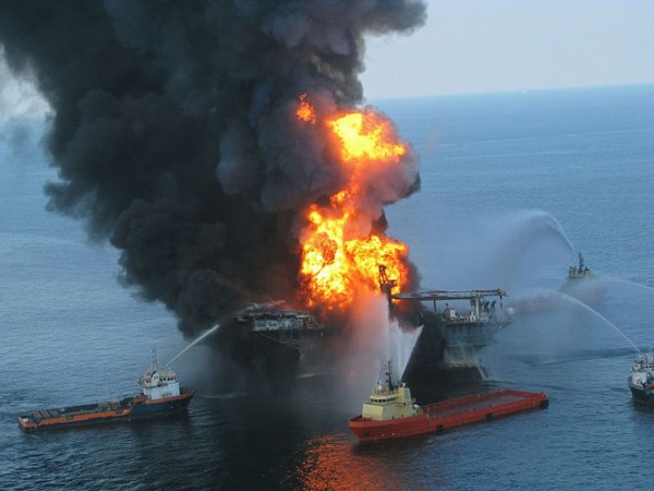 The effects of Deepwater Horizon spill continue after the smoke has cleared. Credit: US Coast Guard