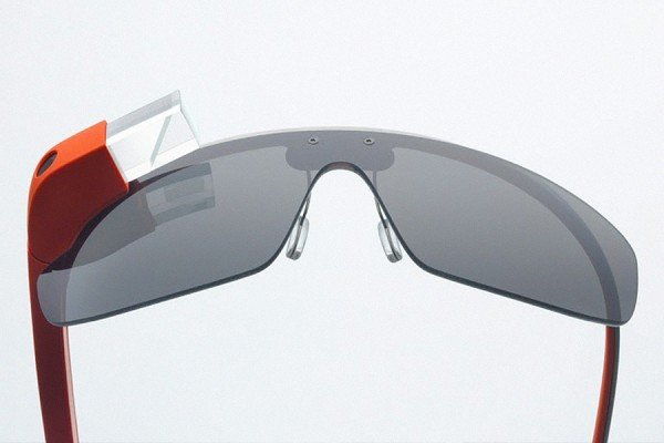New gadget ... Google Glass is essentially a computer on your face (Photo courtesy of Google)