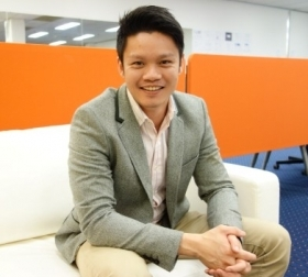 CEO and Co-founder of OneFlare, Marcus Lim.