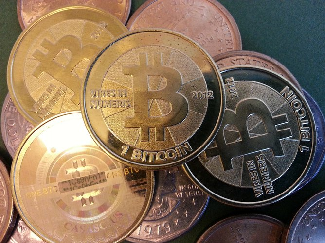 Despite the shutdown of anonymous illegal goods market Silk Road, its currency – the Bitcoin – recovered its losses. Credit: Flickr/Zach Copley