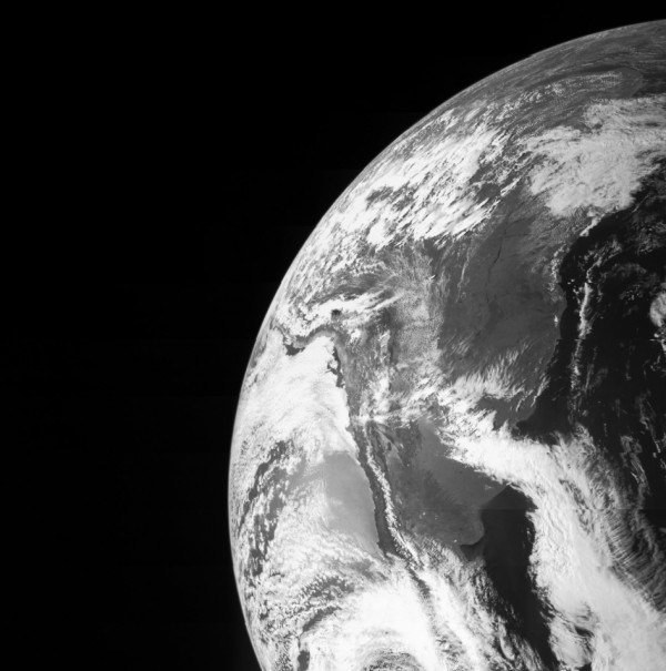 Earth as seen from the Juno spacecraft during the gravity assist flyby on Oct. 9. Image Credit: NASA