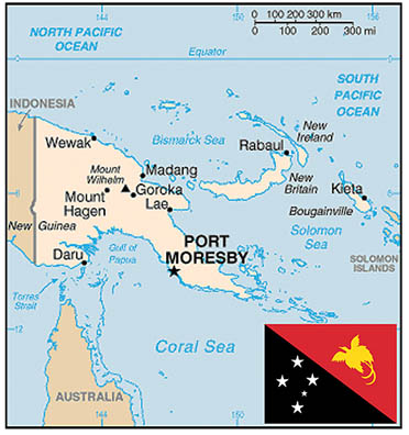 Papua New Guinea (Photo: Department of State - Bureau of Consular Affairs)