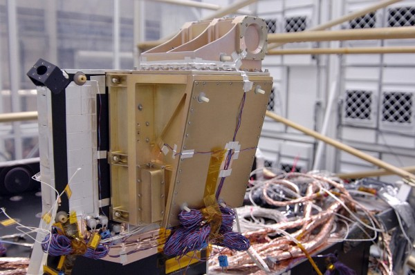 LRO's CRaTER instrument, prior to its installation on the spacecraft. Image Credit: NASA Goddard/Debbie McCallum
