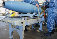 The Ergonomics of Bombs at Sea. (Photo provided by the Office of Naval Research)