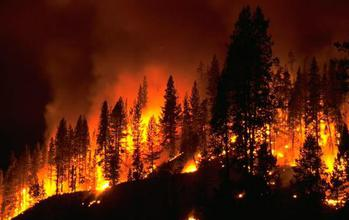 Scientists have developed a new computer modeling technique to predict wildfires.