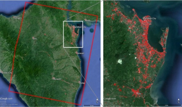 When Super Typhoon Haiyan, one of the most powerful storms ever recorded on Earth, struck the Philippines Nov. 8, 2013, it tore a wide swath of destruction across large parts of the island nation. Image Credit: ASI/NASA/JPL-Caltech