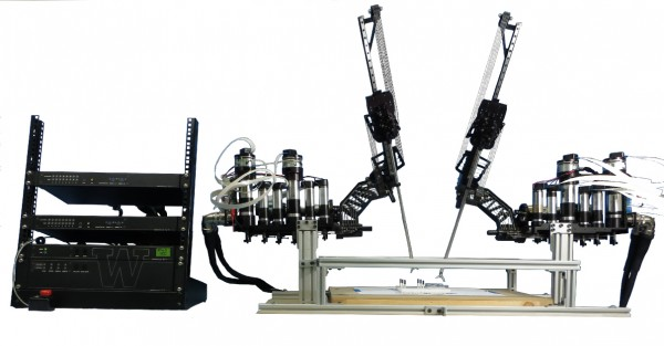 The Raven II surgical robot. Credit: UW