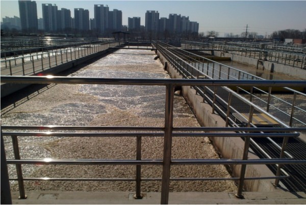 Scientists from Rice, Nankai and Tianjin universities have found signs of drug-resistant bacteria in treated wastewater plants in northern China. Their study suggested the dangerous bacteria were not only escaping purification but also breeding in the treatment plants. (Credit: Yi Luo/Nankai University)