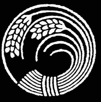 Japanese rice symbol. Credit: Wikimedia Commons