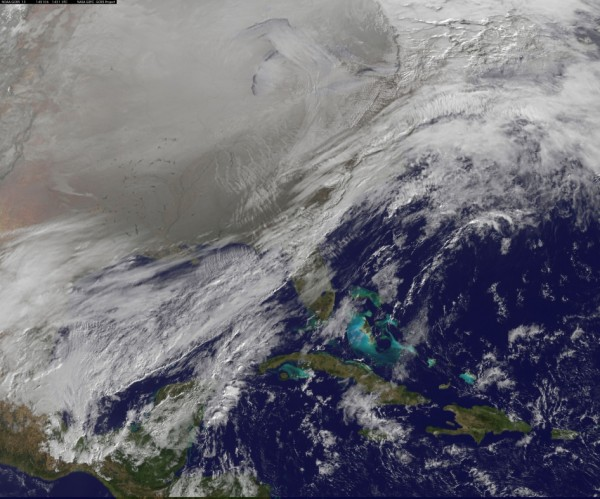 Image credit: NOAA/NASA GOES Project