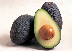 "ARS and University of California-Riverside researchers are identifying key avocado compounds that contribute to ideal flavor and may serve as ""markers"" that breeders could use to select new avocado varieties. Photo courtesy of the California Avocado Commission."