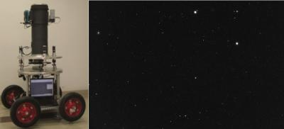This shows the DZT-1 prototype and observation image. Credit: ©Science China Press