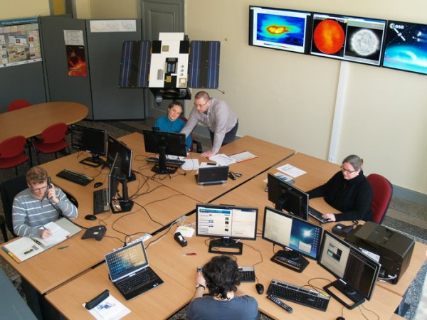 ESA's SSA Space Weather Coordination Centre (SSCC), Royal Observatory Belgium, Brussels. Copyright ROB/Royal Observatory Belgium