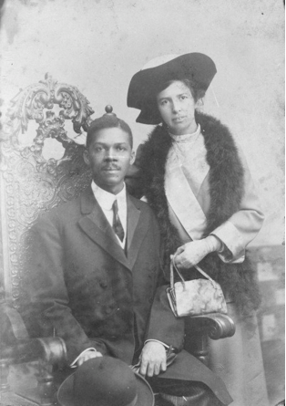 Picture: A portrait of Louis G. Gregory and his wife Louisa Mathew Gregory, the first inter-racial marriage. Credit: Wikimedia Commons