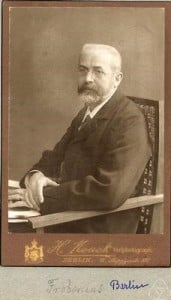 Frobenius algebras are mathematical structures named after a German mathematician Georg Frobenius (1849-1917) and used in many branches of physics and mathematics. Image credit: Oberwolfach Photo Collection, from a photo album of the Mathematische Gesellschaft (Hamburg) via Wikimedia Commons.