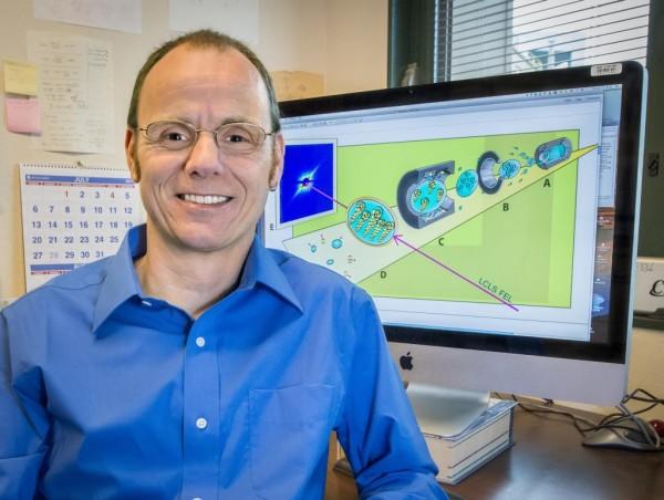 Oliver Gessner, Chemical Sciences Division, Berkeley Lab. Credit: Roy Kaltschmidt