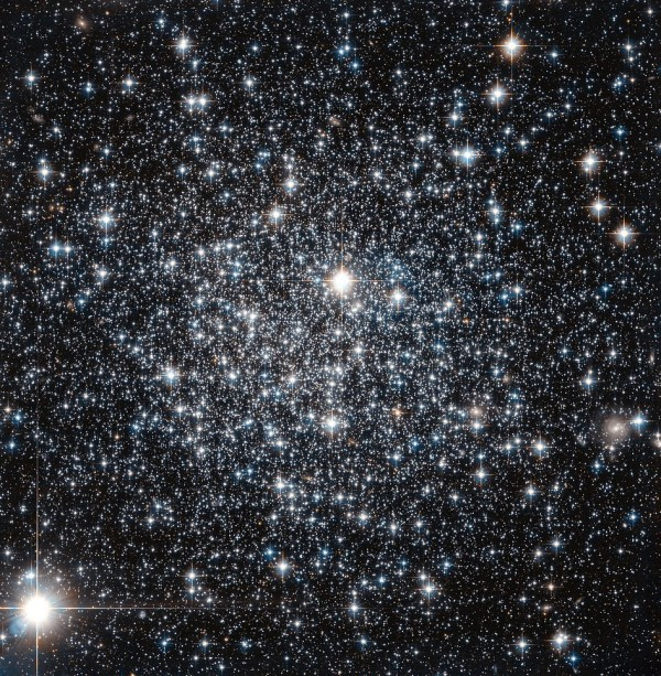 This NASA/ESA Hubble Space Telescope image shows the globular cluster IC 4499.