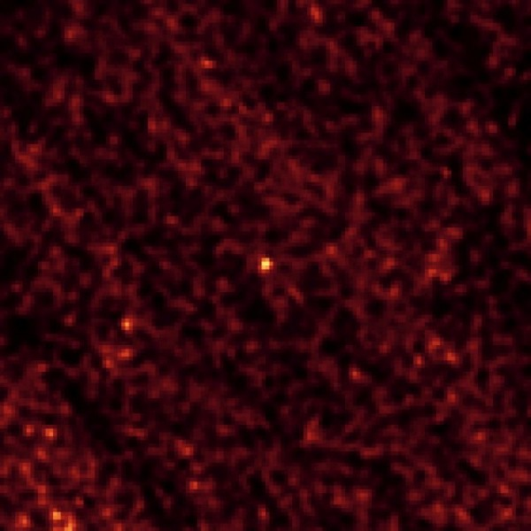 This image of asteroid 2011 MD was taken by NASA's Spitzer Space Telescope in Feb. 2014, over a period of 20 hours. Image Credit: NASA/JPL-Caltech/Northern Arizona University/SAO