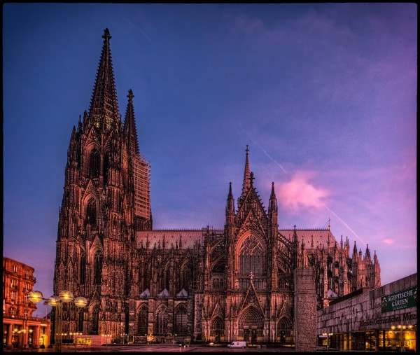 Picture: Cologne Cathedral, Germany. Image credit: Pedro Szekely/Flickr, CC BY-SA 2.0.