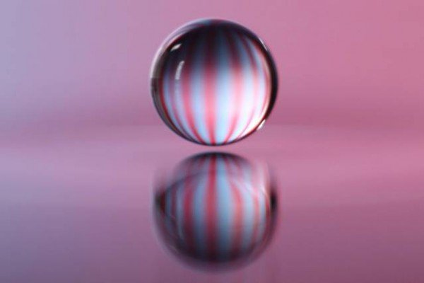 Close-ups of an experiment conducted by John Bush and his student Daniel Harris, in which a bouncing droplet of fluid was propelled across a fluid bath by waves it generated. Image: Dan Harris