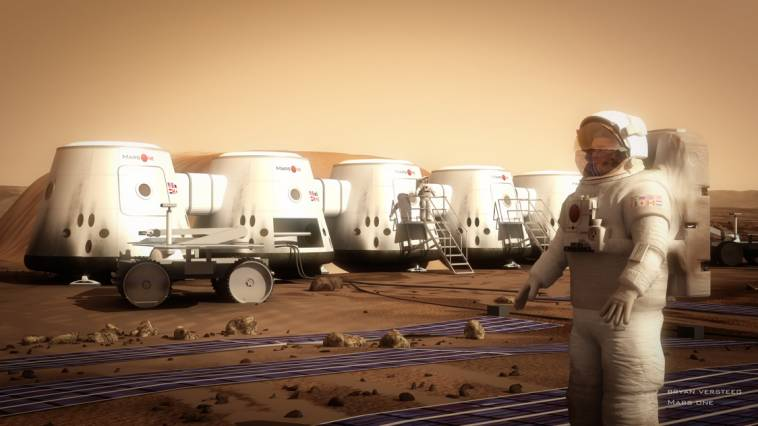 More than 200,000 people around the world have applied to be the first Mars colonists. Courtesy of Bryan Versteeg/Mars One