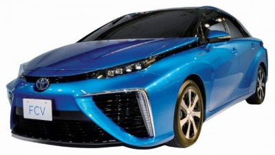 In 2015, Toyota will be the first car maker to bring a personal, hydrogen fuel-cell vehicle to the market. Credit: Toyota