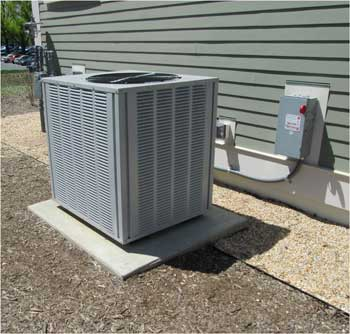 HVAC unit Without proper installation, air conditioning and heating equipment will perform significantly below rated energy-efficiency levels, according to a new NIST study. Credit: NIST
