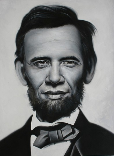 Abraham Obama. Image author Ron English. Via Flickr, CC BY-NC-ND 2.0.