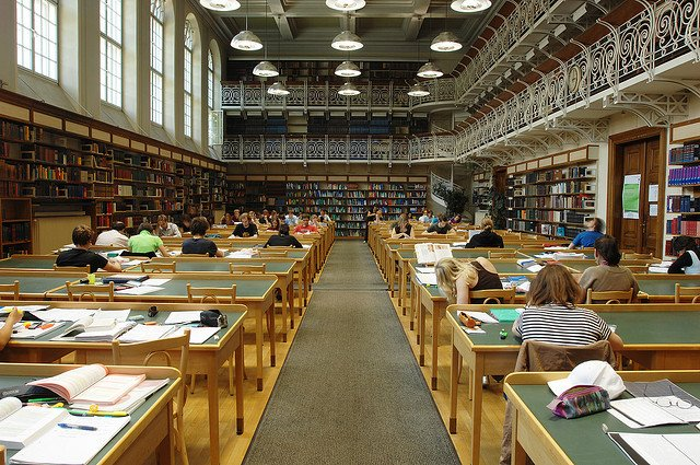 Picture: University Library. Image credit: uniinnsbruck via Flickr, CC BY-NC 2.0.