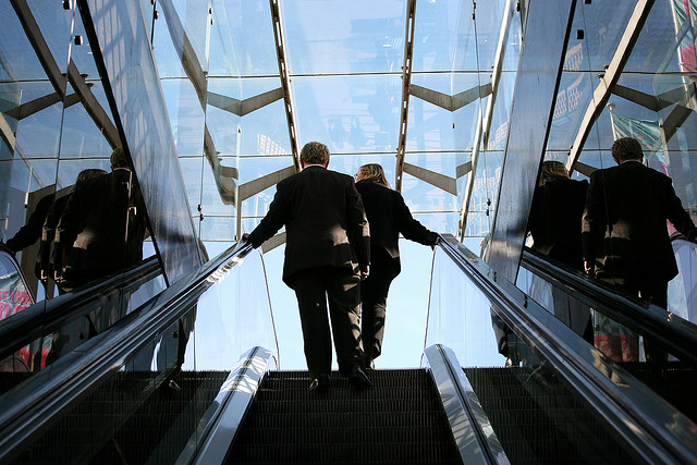 Picture: Office Politics: A Rise to the Top. Image credit: Alex Proimos via Flickr, CC BY-NC 2.0.